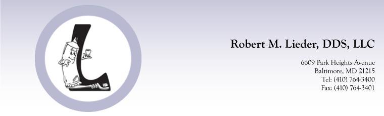 Robert M Lieder DDS
