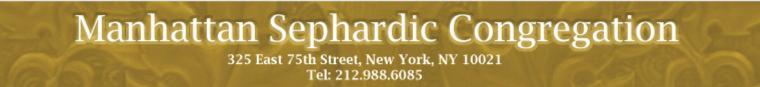 Manhattan Sephardic Congregation